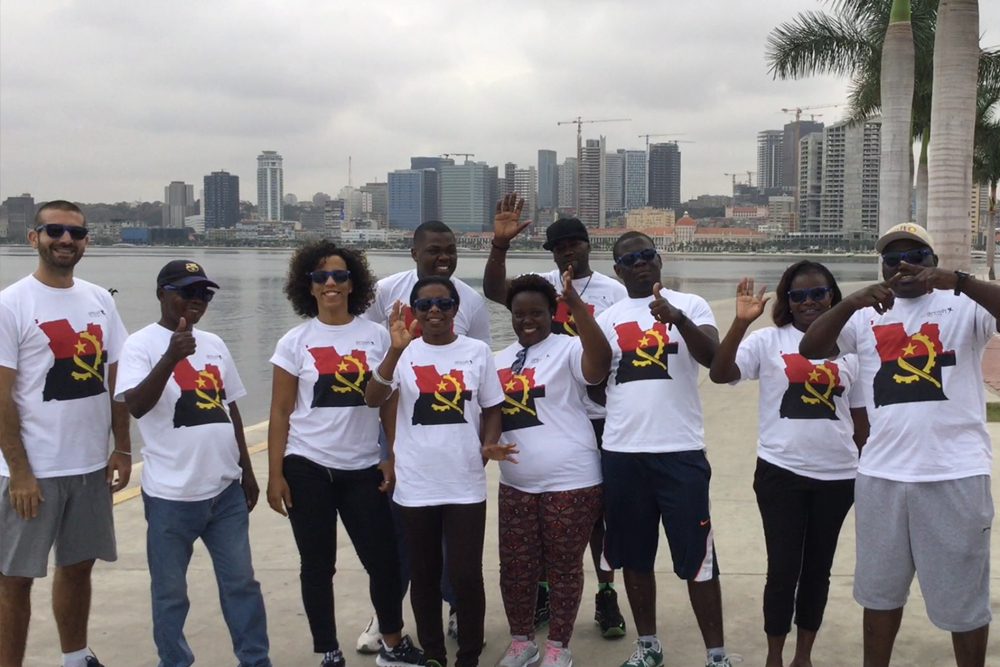Airswift Angola Relay For Life 2018