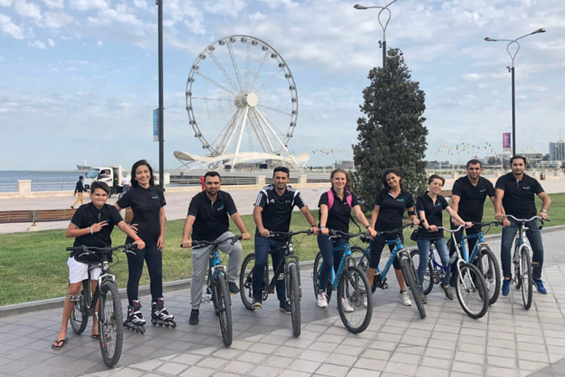 Airswift Baku Relay For Life Biking 2018