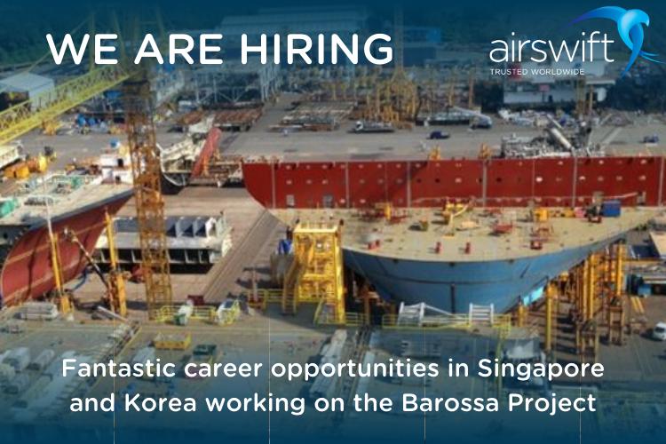 Airswift Barossa project hiring