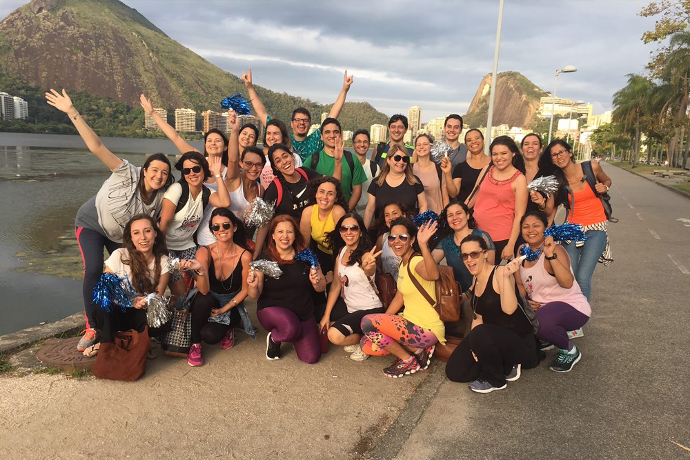 Airswift Brazil Relay For Life 2018