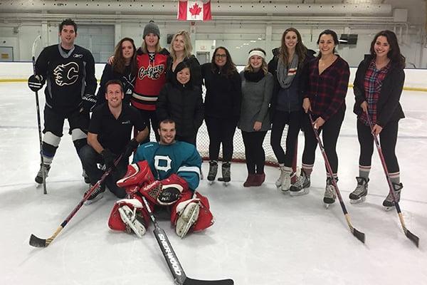 Airswift Calgary Relay For Life Hockey 2016
