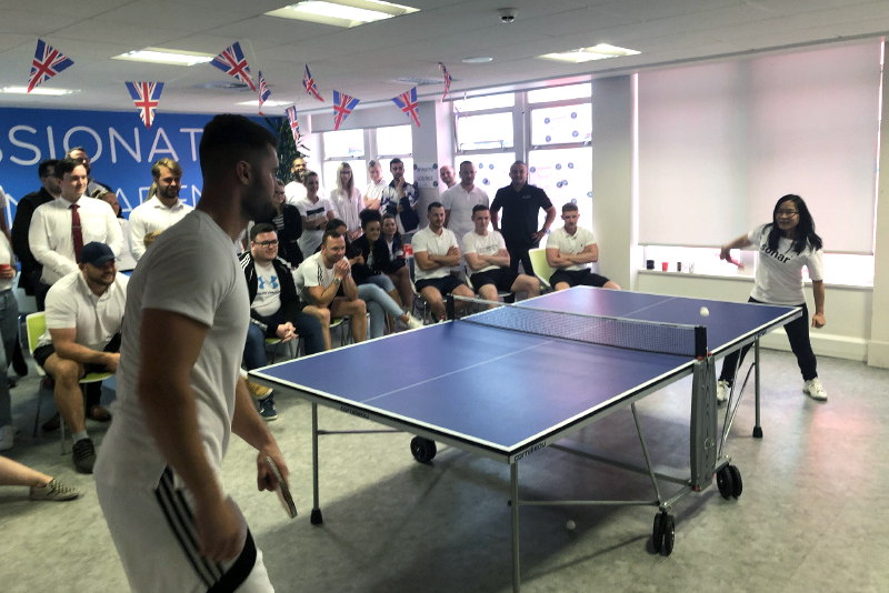 Airswift Manchester Table Tennis 2019