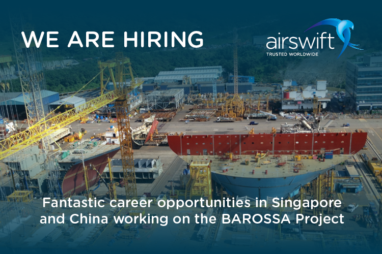 Airswift are hiring for key engineering roles on the Barossa FPSO project