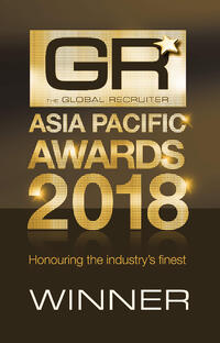 Winner - Global Recruiter Asia Pacific Awards 2018