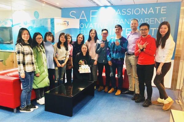 Airswift Chengdu Anniversary 2018