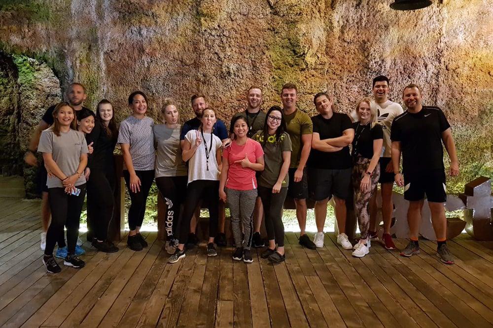 Airswift Dubai Team Building 2019