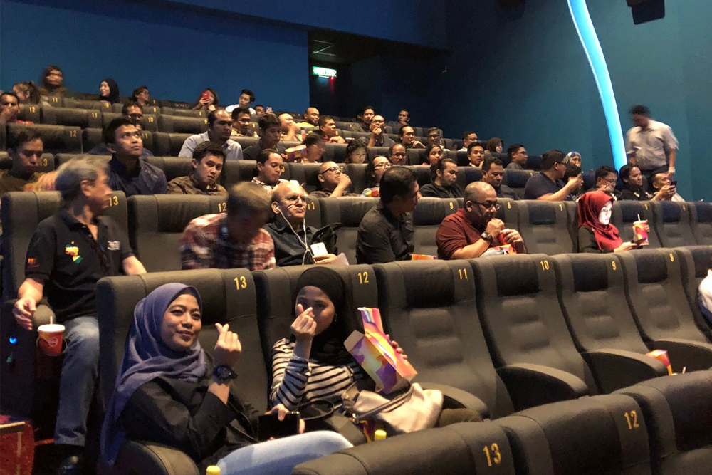 Airswift KL Contractor Movie Night 2019