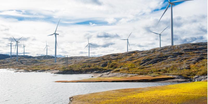 Norway wind turbines