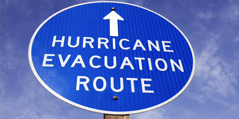 safety-hurricane-evacuation-sign
