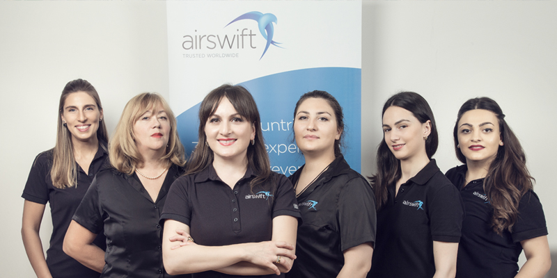 FEATURED work at airswift employee