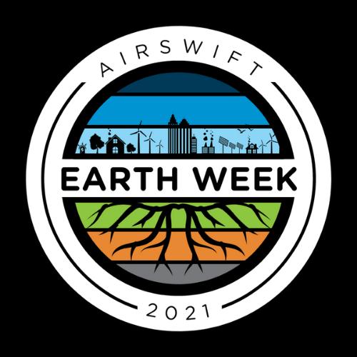 Global Airswift Earth Week Logo