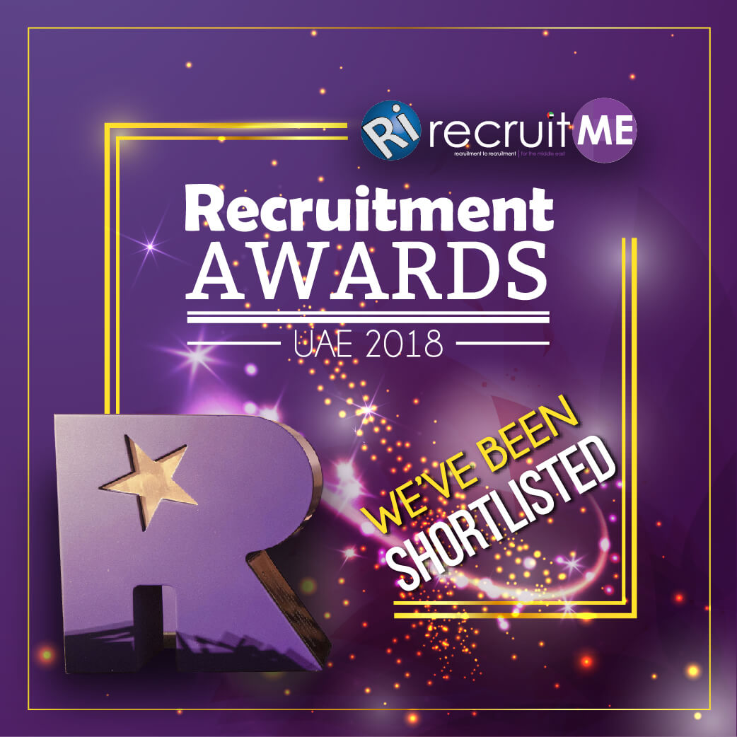 Airswift nominated for RecruitME awards