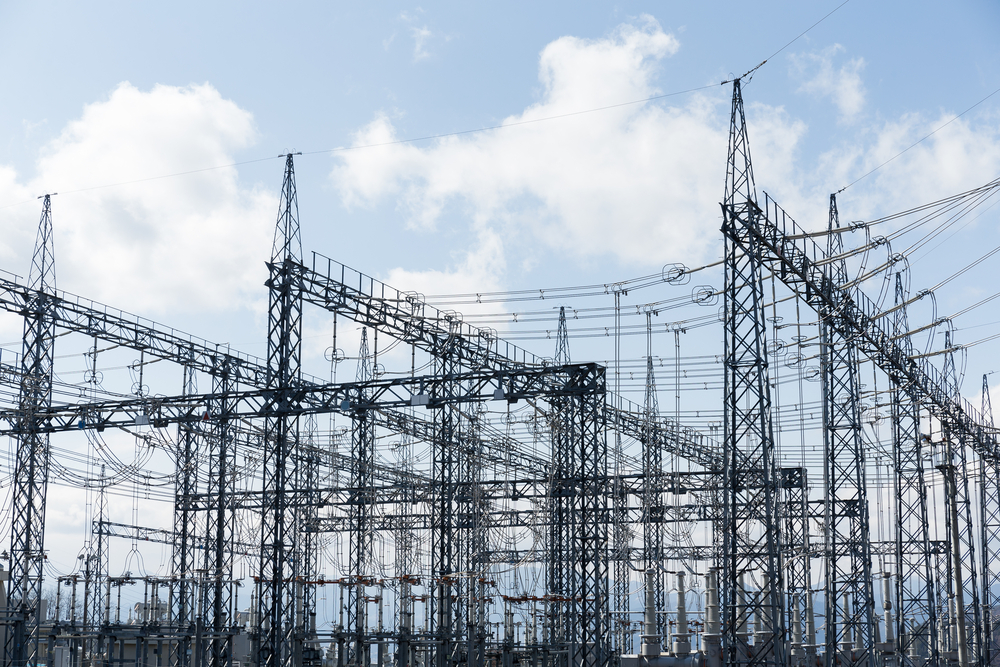 high voltage substation-1